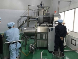 Full stainless steel GMP grade pharmaceutical material bead mill